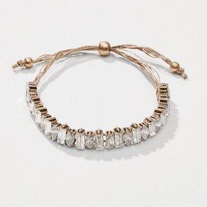 Crystal Slider Bracelet-NWT